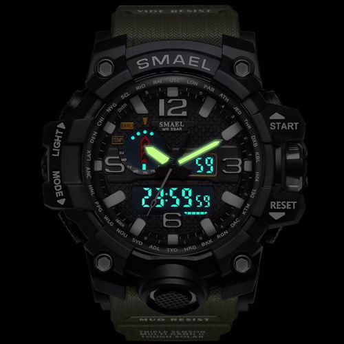 relógio masculino militar esportivo frete grátis + brinde