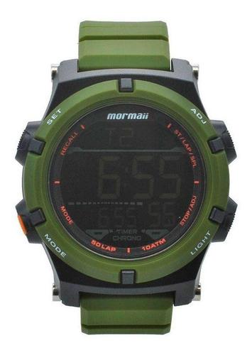 relógio masculino militar esportivo mormaii original c/ nfe