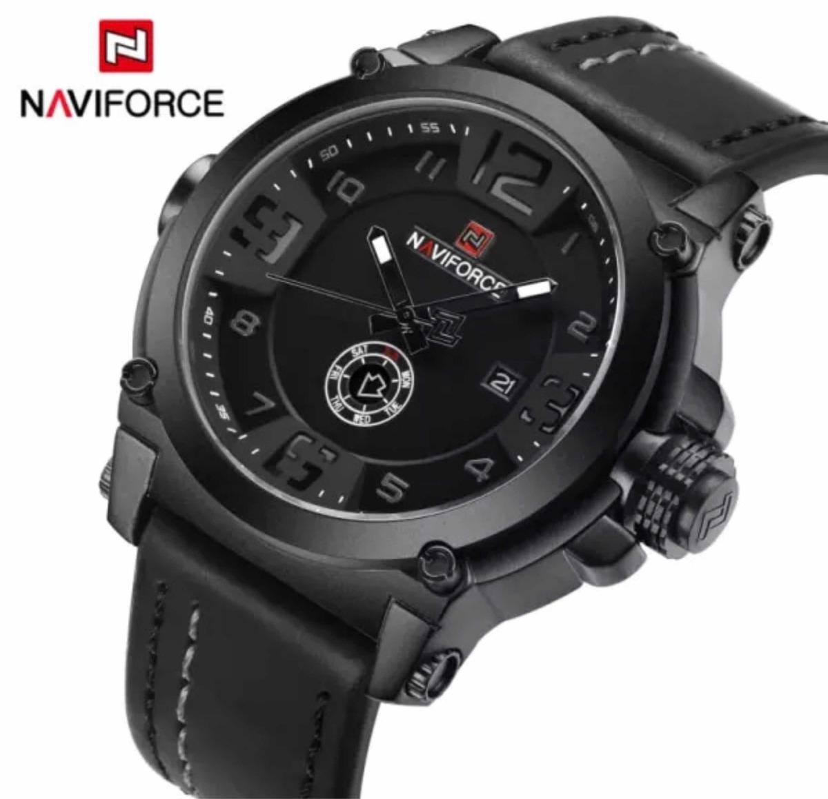 ae5bd09cbf8 Relógio Masculino Militar Esportivo - Naviforce Original - R  144
