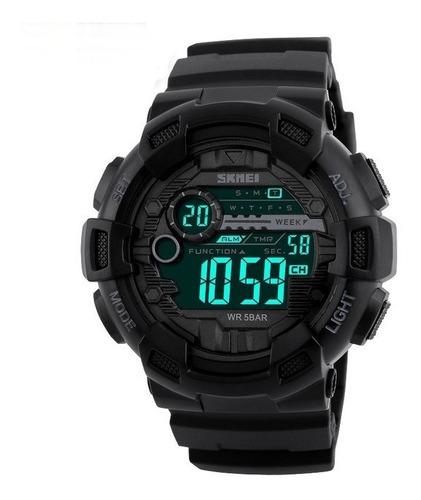 relógio masculino militar esportivo shock a prova d'água