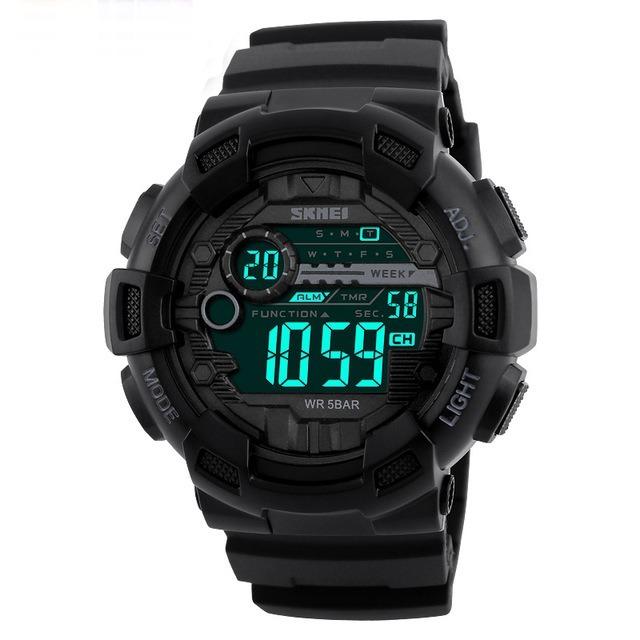 8f2bebaa482 Relógio Masculino Militar Esportivo Shock Skmei Original - R  89