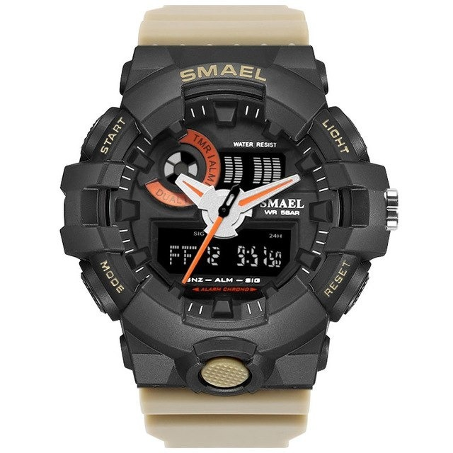 9a8fe76685e Relógio Masculino Militar Exercito Smael Prova D agua Sport - R  99 ...