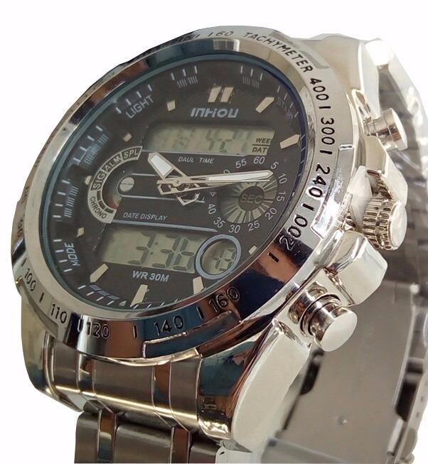 2734ca548c2 Relógio Masculino Militar Iron Prova Dágua 100% Barato - R  120