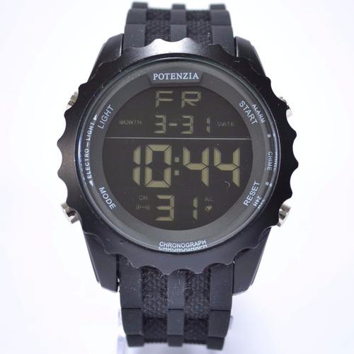 relógio masculino militar potenzia barato estiloso aproveite