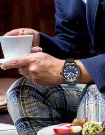 relógio masculino mini focus esporte fino super elegante