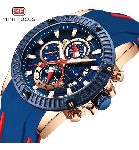 relógio masculino minifocus original modelo mf0244 importado