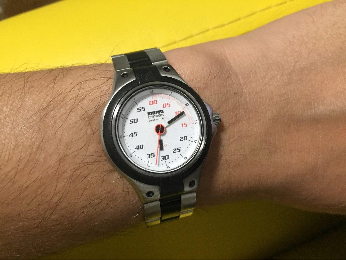 b89a7d2003f relógio masculino momo design speed md-015 original. Carregando zoom.