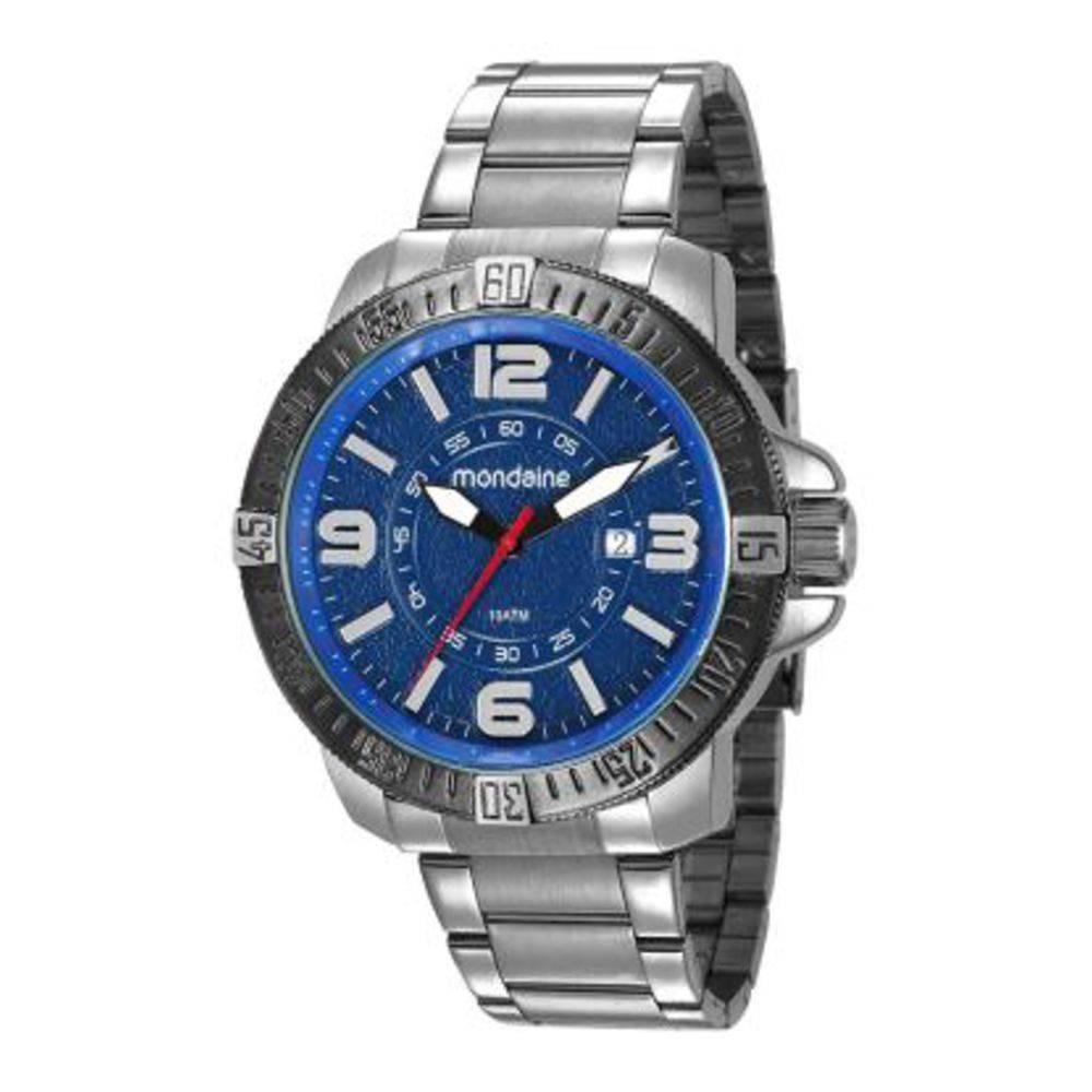 a42cf1f9715 Relógio Masculino Mondaine 53645gpmvcs2 - Prata - R  239