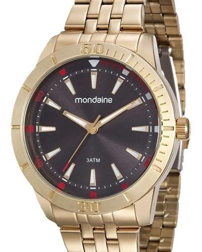 relógio masculino mondaine 99144gpmvde2 c/ garantia e nf
