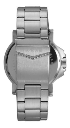 relógio masculino mondaine 99233g0mvns3 big case prata
