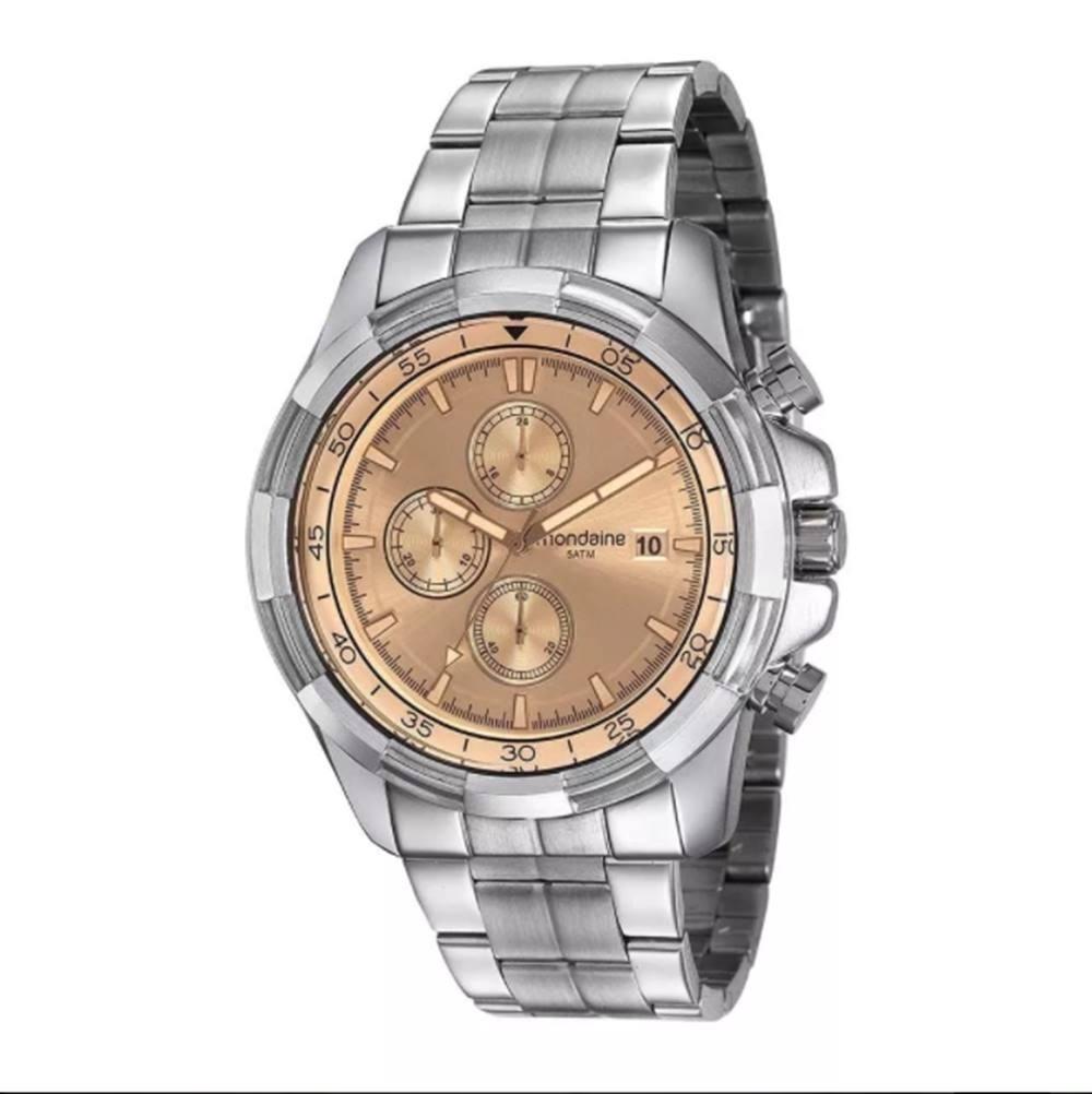 Relógio Masculino Mondaine 99263g0mvns1 Cronógrafo Prata - R  359,90 em  Mercado Livre 980eb662ef