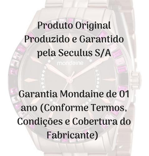 relógio masculino mondaine digital preto 53963gpmvdi1 c/ nf