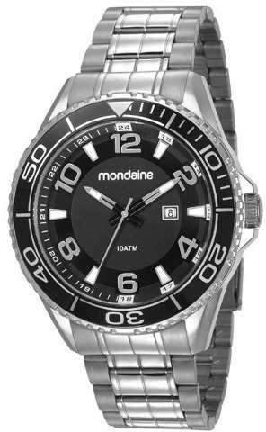 d0d439ca16e Relógio Masculino Mondaine Prata - Não Perca! - R  193