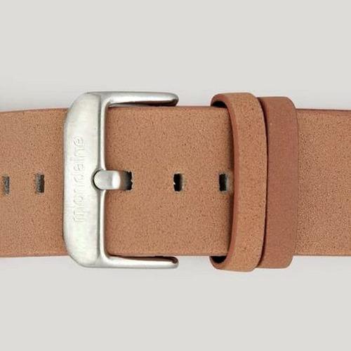 relogio masculino mondaine wr30 pulseira couro grande 47mm