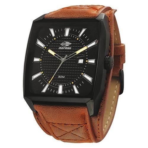 1b74f336d1c Relógio Masculino Mormaii 2315yx 2p Analógico Marrom preto - R  329 ...