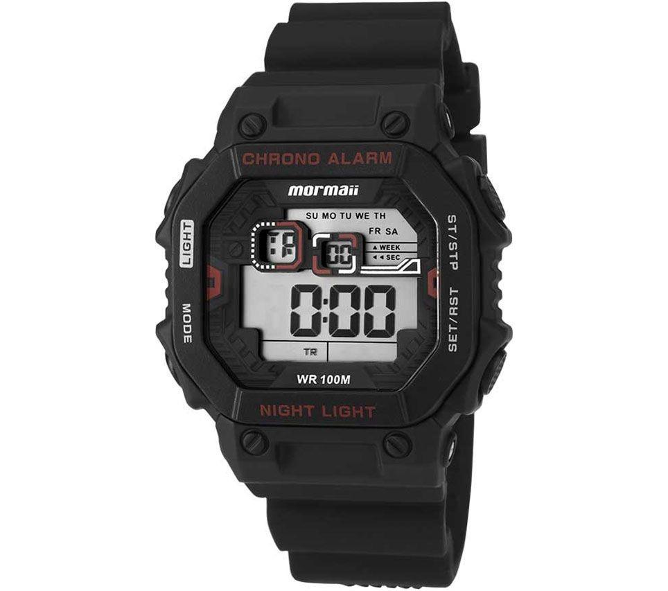 4b2d42f5860 Relógio Masculino Mormaii Acqua Pro Monf006a 8r - Preto  ... - R ...