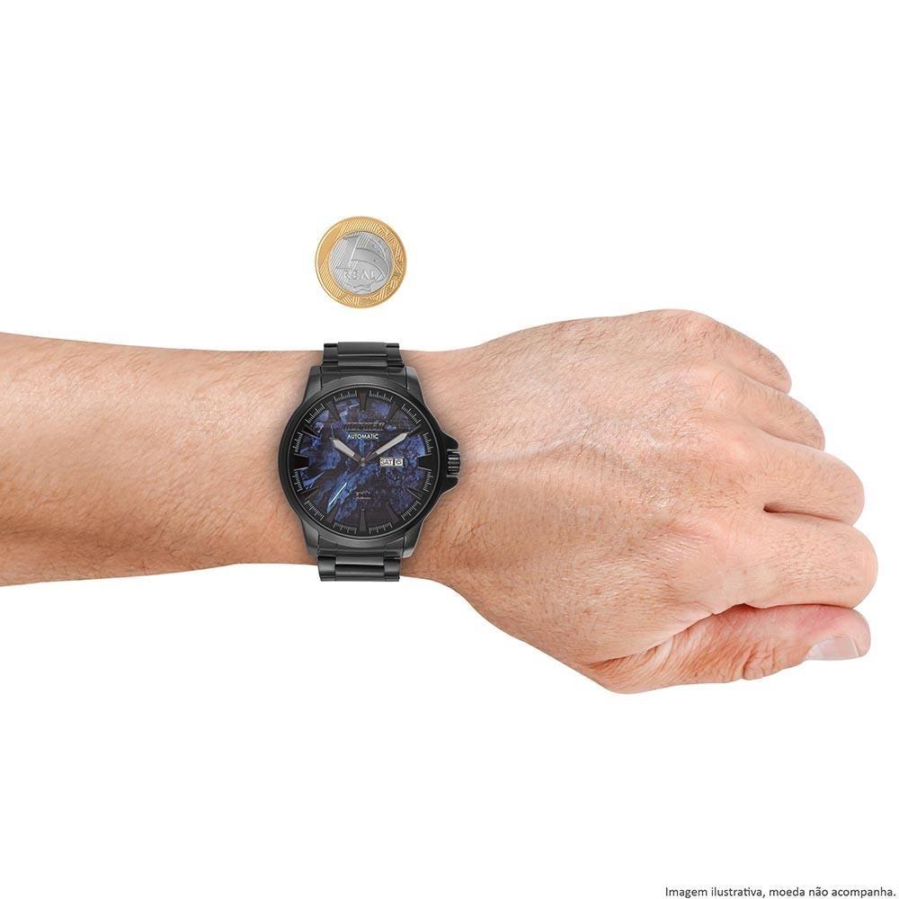 928f76ca6a652 Relógio Masculino Mormaii Automático Preto Mo8205ac 4p Orig - R  379 ...