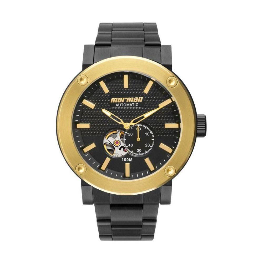 cdca40587b788 Relógio Masculino Mormaii Mo82s0ab 5p Automatic Preto - R  579