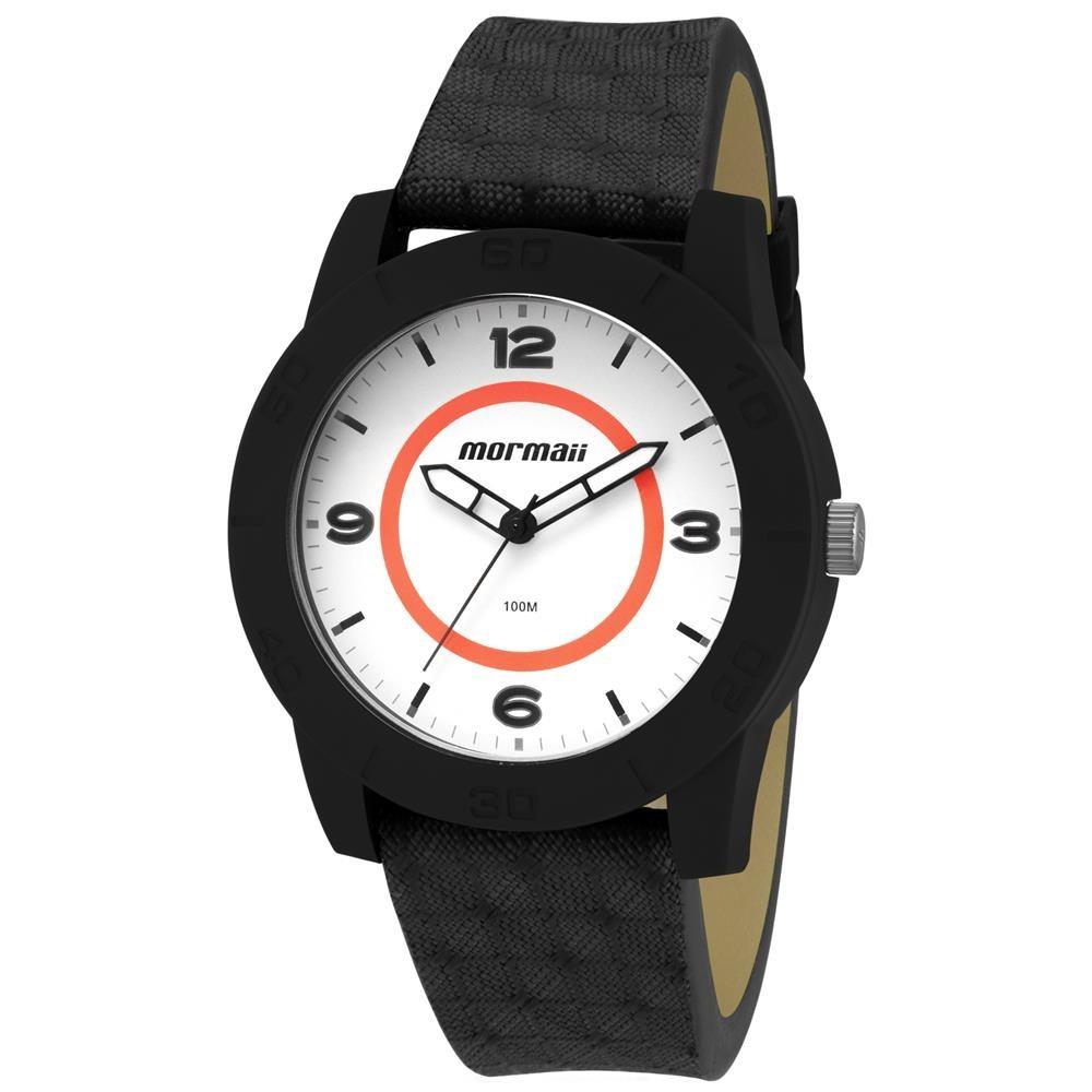 Relógio Masculino Analógico Mormaii Mo2036dt 8c Preto - R  98,01 em ... 2a47bc880e
