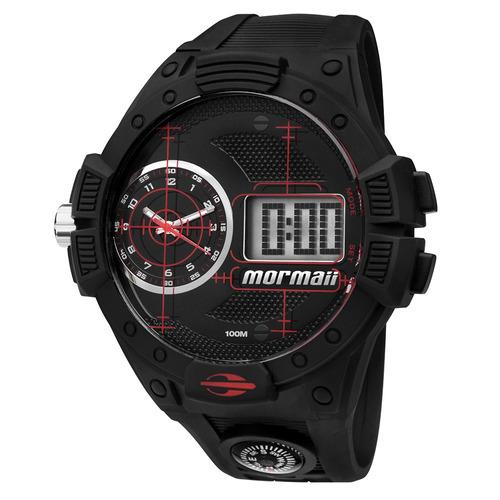 relógio masculino mormaii acqua pro anadigi mo2568ab/8r