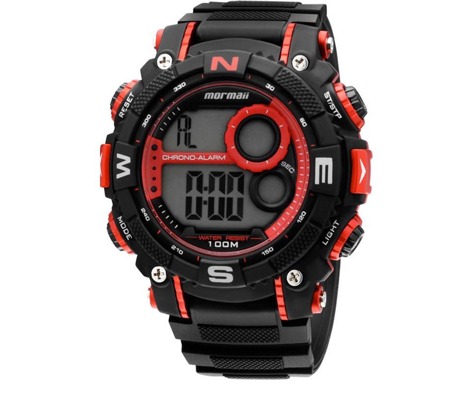 156f74fe899 relógio masculino mormaii acqua pro yp2579 8r preto. Carregando zoom.