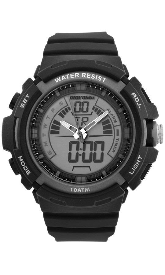 31ed4c1e4bd Relógio Masculino Mormaii Esportivo Anadigital Moad08902 8c - R  232 ...
