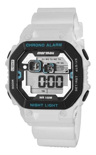 relógio masculino mormaii monf001a/8b ( rev. autorizada) nfe