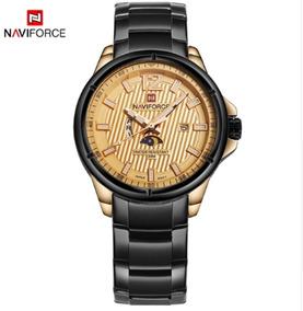 f2b21a06f Relógio Masculino Naviforce 9084 Pulso Original Frete Grátis. R$ 128