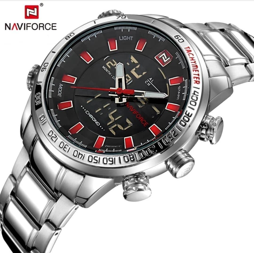 6b732d777ab relógio masculino naviforce 9093 militar esportivo original. Carregando zoom .
