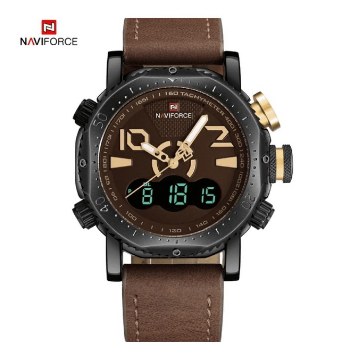 4c7df639a0a relógio masculino naviforce 9094 original liquidação confira. Carregando  zoom.