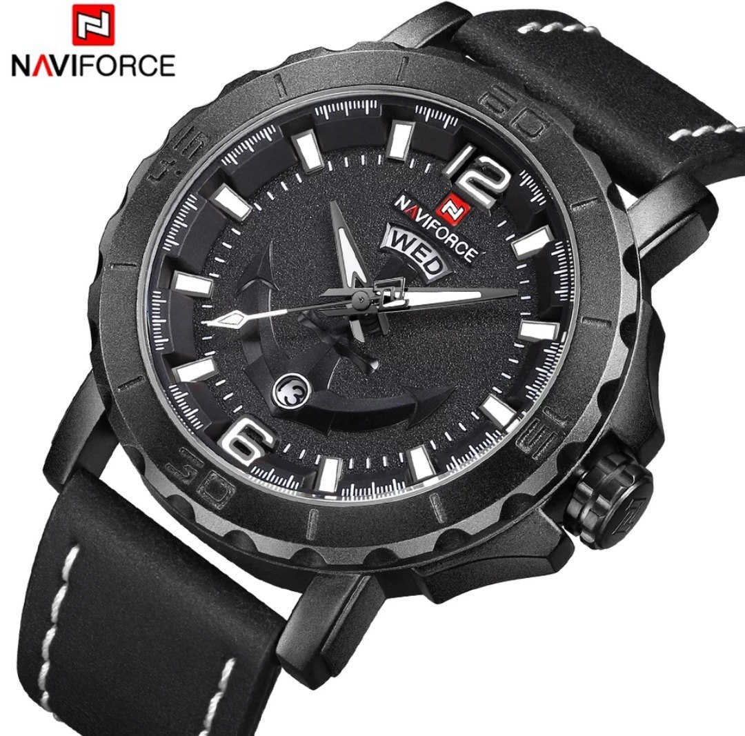 Relógio Masculino Naviforce 9122 Social Prova Dágua Barato - R  159 ... 2c2b813729