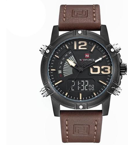 relógio masculino naviforce modelo 9095 esportivo confira !