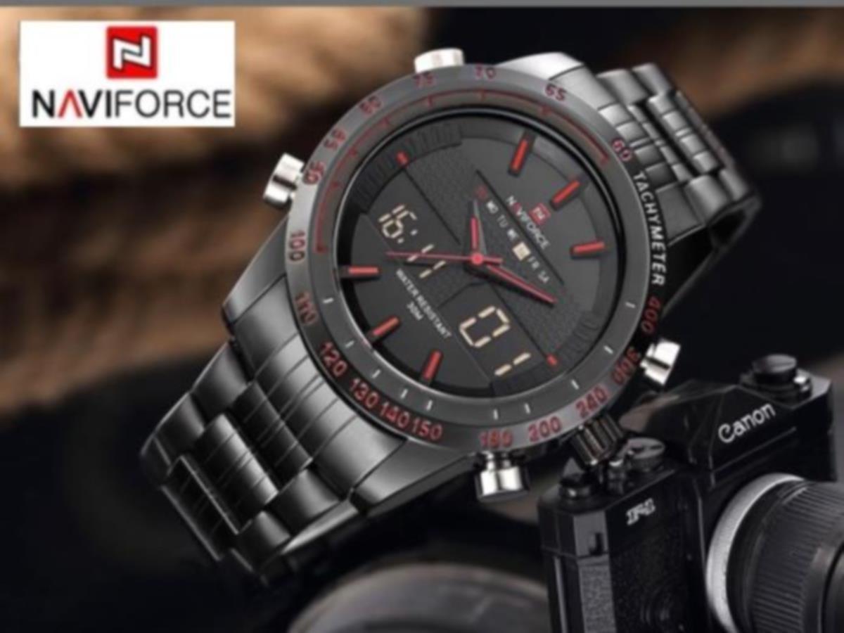 b26a32f8d54 relógio masculino naviforce nf9024 esportivo racer. Carregando zoom.