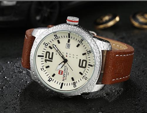 relógio masculino naviforce nf9063 original +caixa promoção