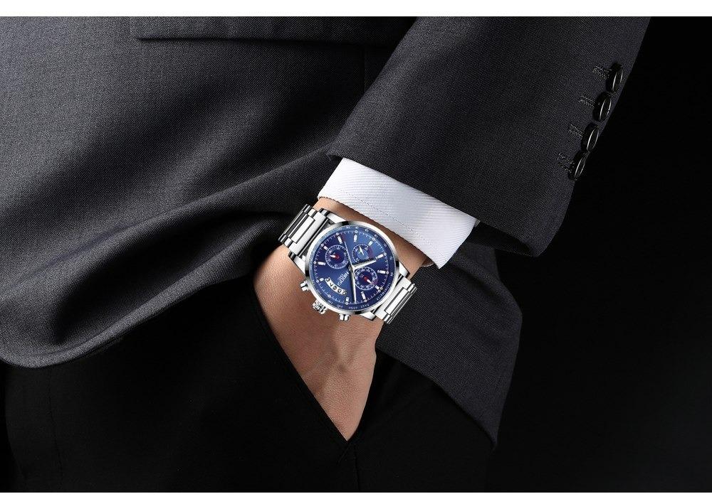 e967c407190 relógio masculino nibosi® cronômetro e cronógrafo à prova d . Carregando  zoom.