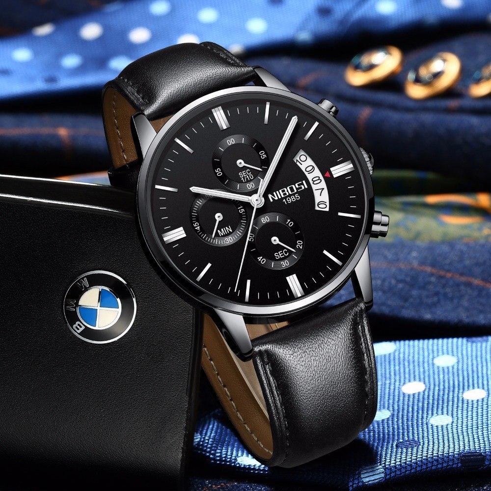 7f4af47705a relógio masculino nibosi original luxo pronta entrega. Carregando zoom.