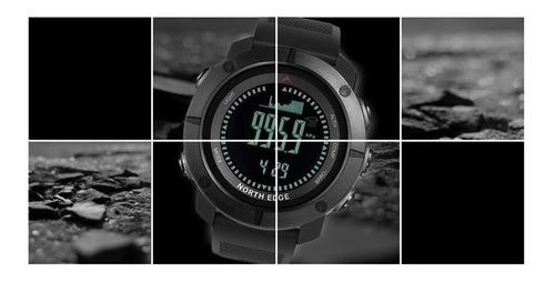 relógio masculino north edge apache altímetro, bússola, barômetro, temperatura, previsão do tempo... ( original com nf )