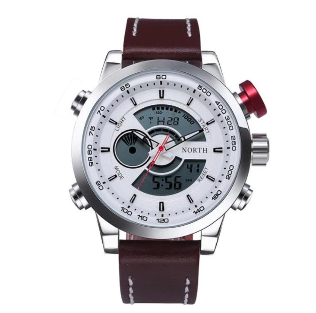 85d94b1bf5e relógio masculino north grande importado a prova d agua. Carregando zoom.