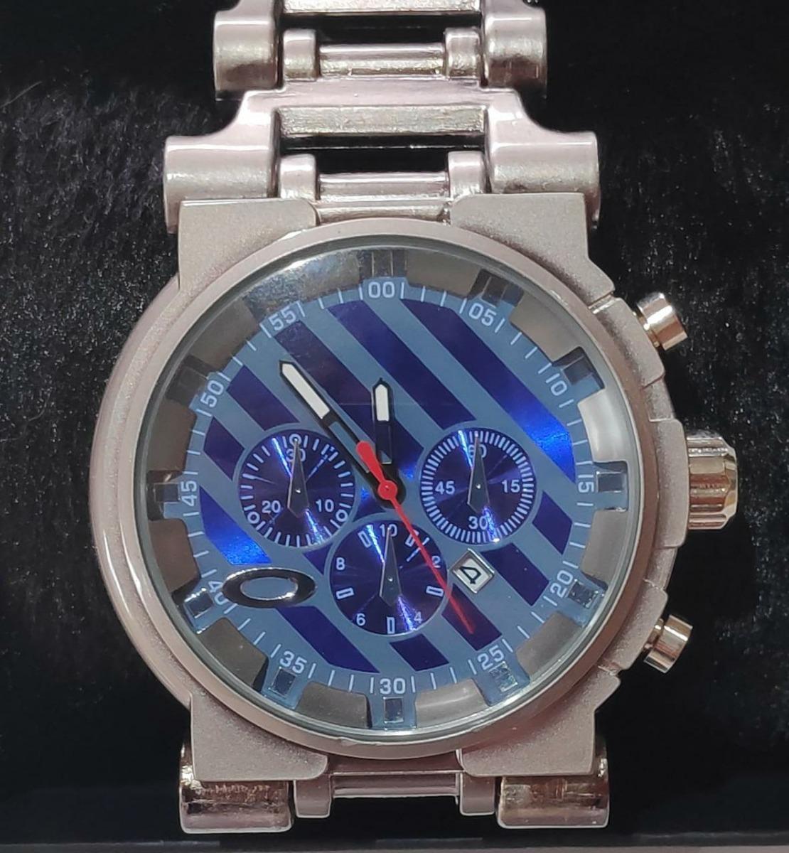 4ca506f14e0 relógio masculino oaklei tank hollow minute gearbox titanium. Carregando  zoom.