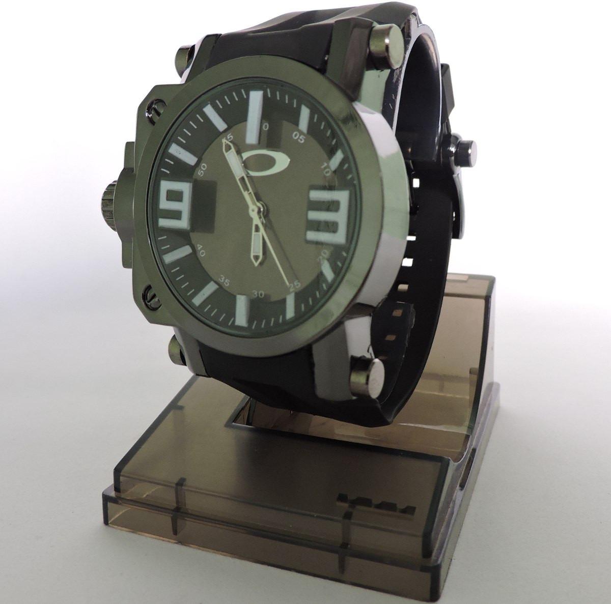 17c20fe3100 relógio masculino oakley gearbox esporte preto. Carregando zoom... relógio  masculino oakley. Carregando zoom.