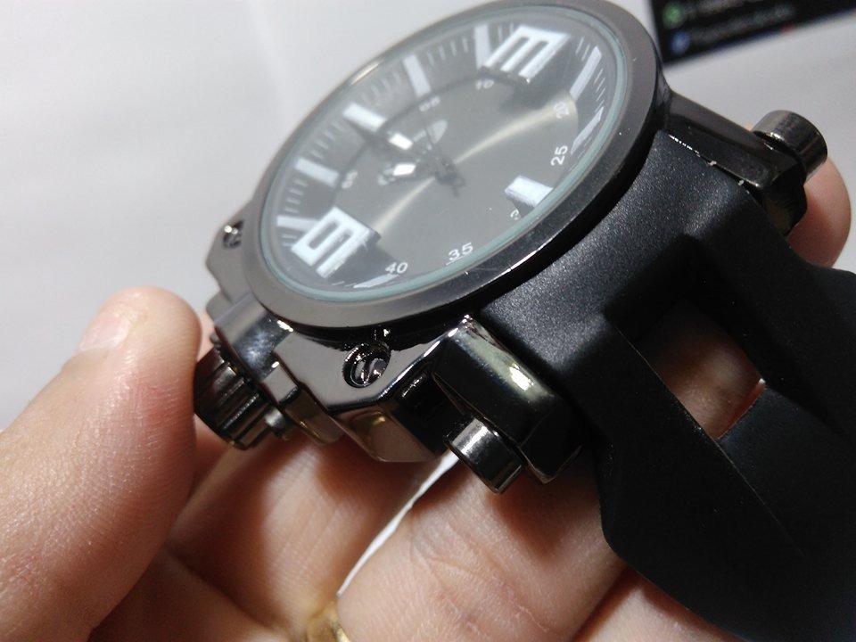 a9ca10d0561 Relogio Masculino Oakley Gearbox-frete Gratis - R  50