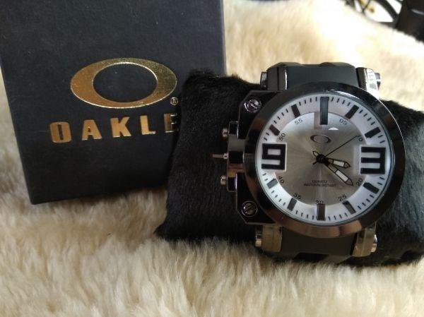 9c09a207483 relógio masculino de luxo top oakley gearbox frete gratis · relógio  masculino oakley