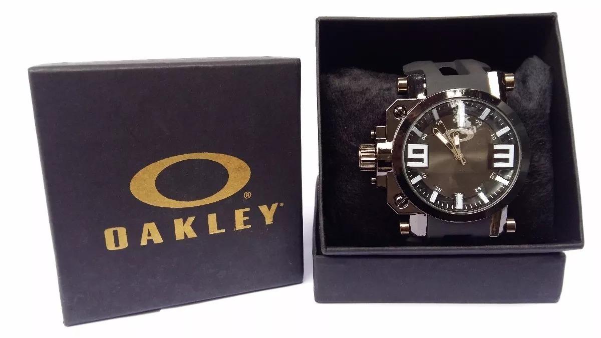 a6aadbf81d3 Relogio Masculino Oakley Gearbox Titanium Com Caixa