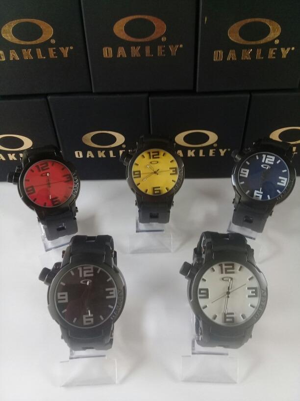 e686e4b2748 relógio masculino oakley gearbox holeshot 2 prova d água. Carregando zoom.