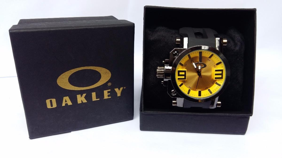 1fb4599f0db Relogio Masculino Oakley Gearbox Titanium +caixa