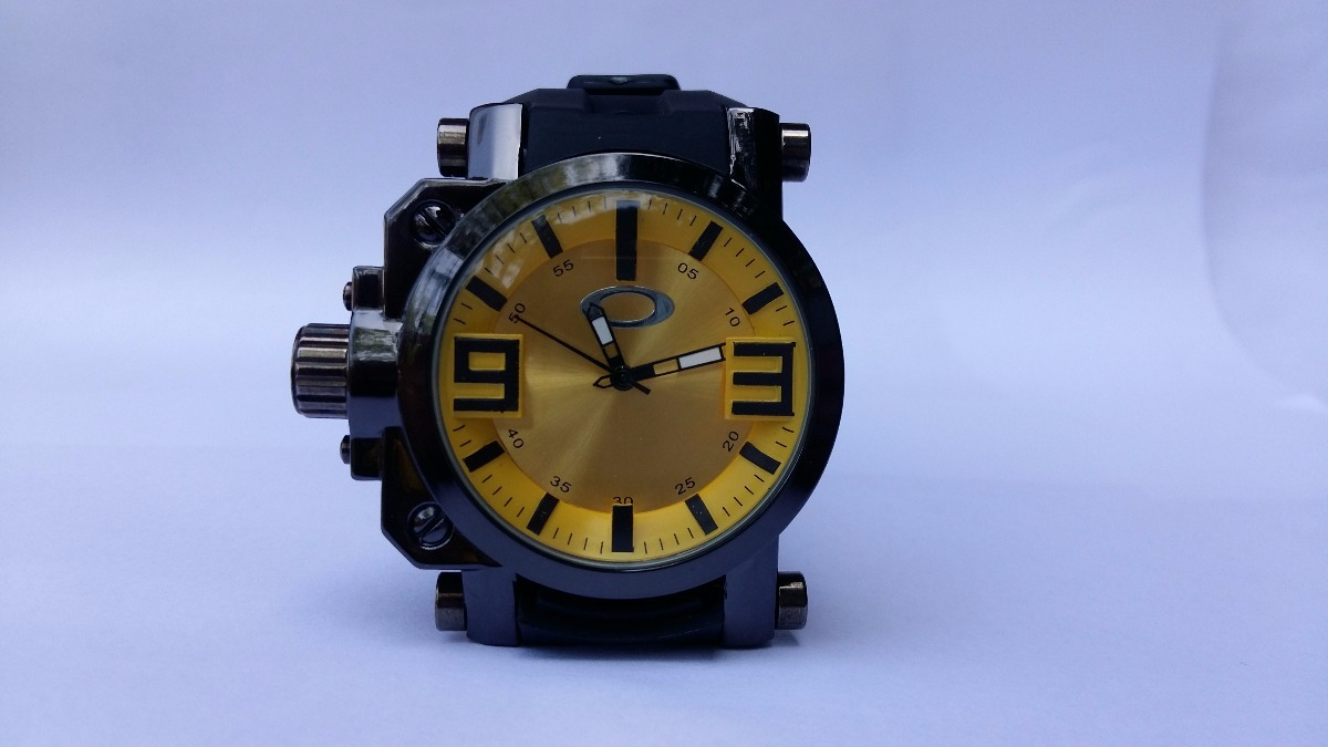 7b608e57e5c relogio masculino oakley gearbox titanium kit com 10unidades. Carregando  zoom.