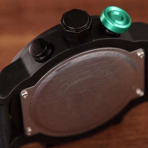 relógio masculino ohsen digital analógico a20 - frete grátis