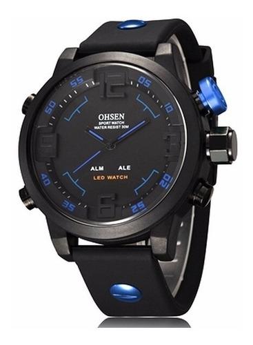 relógio masculino ohsen modelo ad2820