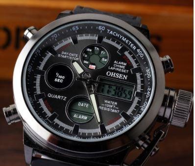 relógio masculino ohsen st029