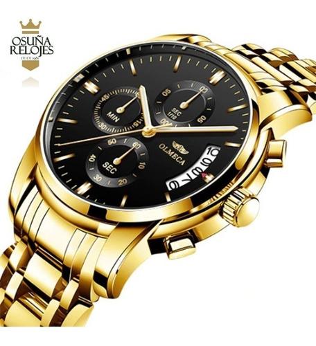 relógio masculino olmeca blindado anti risco 100% funcional